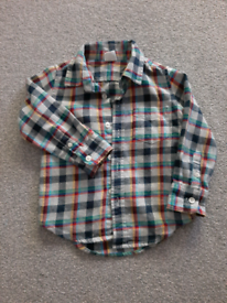 2 years old boy GAP checked shirt