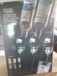 Distributeur d'alcool NEUF