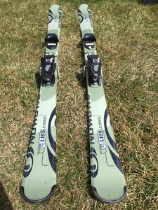 "155"" Salmon Skis and 103mm Salmon Boots"