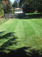 Lawn Mowing, Residential Pricing starts at $20/cut