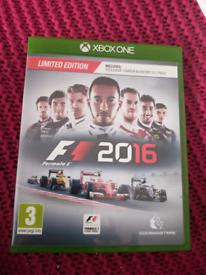 Formula 1 F1 2016 Xbox game