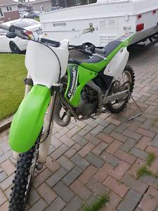 2005 Kawasaki kx125 3200 OBO