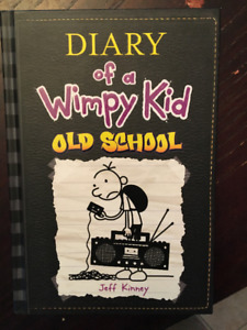 Diary of a Wimpy Kid - book 10 - Old School - Hardcover