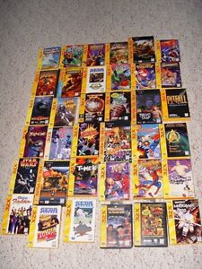 *Wanted* complete Sega 32x games