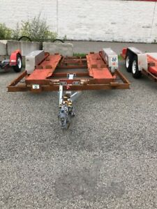 Trailer for sale (PARTS ONLY) REMORQUE (POUR PIECES SEULEMENT )
