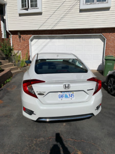 Lease take over. 2019 honda civic touring. +Extended warranty