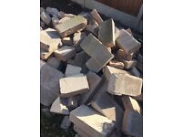 Breeze blocks, free hardcore broken blocks bricks