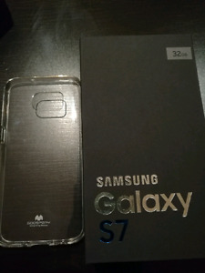 BNIB SAMSUNG S7 SILVER 32GB/NEVER USED
