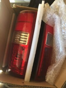 F150 tail lights, seat covers, spare wheel