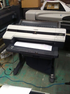 Canon iPF 610 wide format plotter/printer 24wide.