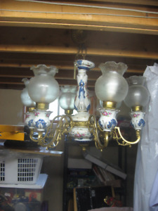 Capodi Monte Chandelier made in Italy