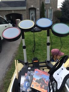 Rock band et play station 2