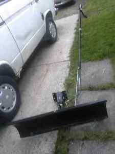 Craftsman snow blade for lawn tractor