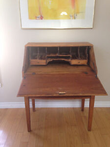 Antique Drop Leaf Secretary Desk London Ontario image 2