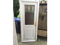 Composite rear/front/side/shed/garage door delivered and fitted