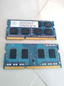 3GB DDR3 PC3 Laptop RAM
