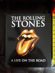 The Rolling Stones A Life on the Road UK coffee table book 1998