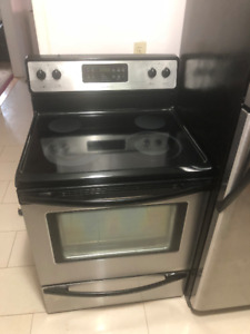 Quick sale: Frigidaire stainless steel stove for sale