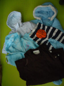 Lot of baby cloths 9-12 month (Winter Suits)