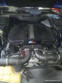 BMW S62B50 E39 M5 Engine 5.0 V8 400bhp Complete Upgrade 540i E34 E36 E30