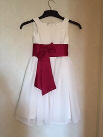 Flower girl +3 bridesmaid dresses