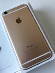 IPHONE 6 (gold, 64GB, unlocked, perfect condition)