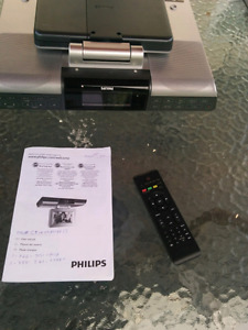 Philips under cabinet TV with fm radio