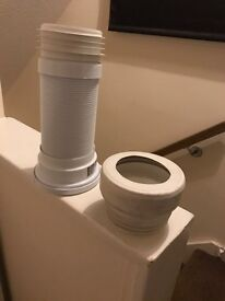 2 toilet waste attachments