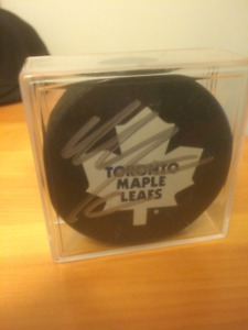 Mitch Marner Autographed Toronto Maple Leafs puck