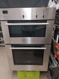 Siemens stainless steel double oven