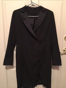 Women's Black coat - Women outwear jacket