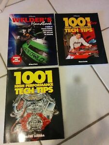 Various Muscle Car Books