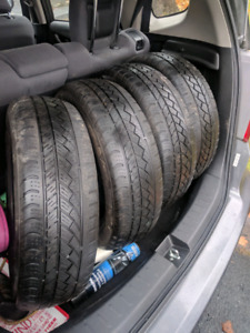 Free honda FIT all weather tires, 175/65R15