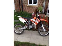 KTM sx85 big wheel