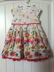 Brand new marks and spencer multilayer beautiful baby girl dress
