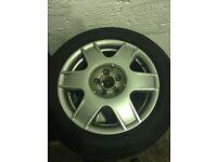 "16"" VW Golf/Bora sport wheels 5x100"