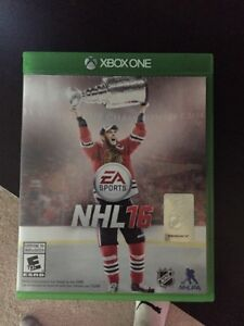 NHL 16 Xbox one. Perfect condition