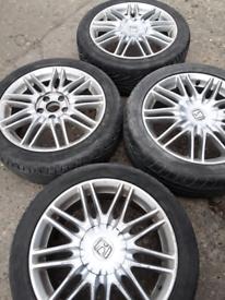 "17"" Honda Accord S type S alloy wheels (297)"