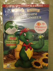 Franklin Turtle 2-Disc DVD set with Plush Key Chain