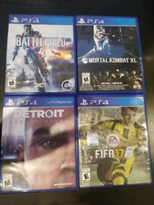 Ps4 games selling asap