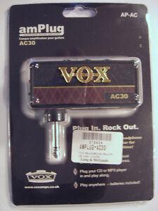 Vox amPlug Headphone Amp - AC30