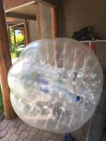 Bubble balls for rent and we also selling the bubbles ball