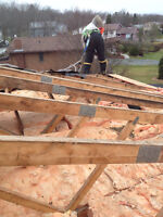 roofs, re-roofs and repairs!, siding, windows, doors and caulkin