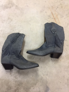 Woman's Genuine leather Cowboy boots