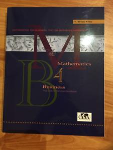 Mathematics for Business: The CGA Reference Handbook