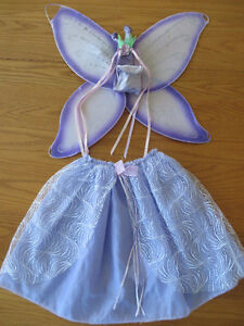 fairy skirt and wings