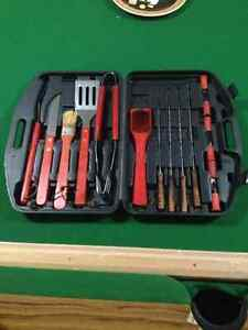 BBQ cooking set
