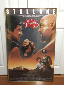 """Sylvester Stallone - """"Over The TOP"""" Movie Poster"""