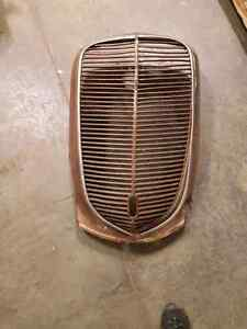 1937 Ford Pickup Grill and Hood