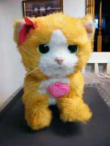 FURREAL FRIEND YELLOW CAT WITH COLLAR